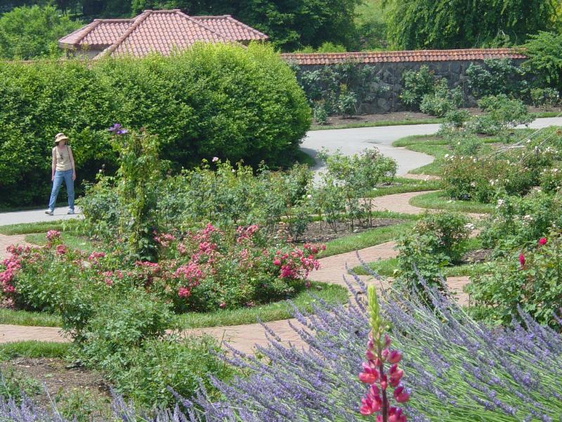 Paths in the Walled Garden