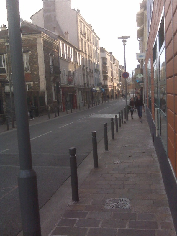 Street in Malakoff