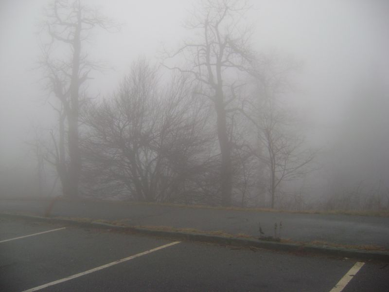 Mt Pisgah in the Mists
