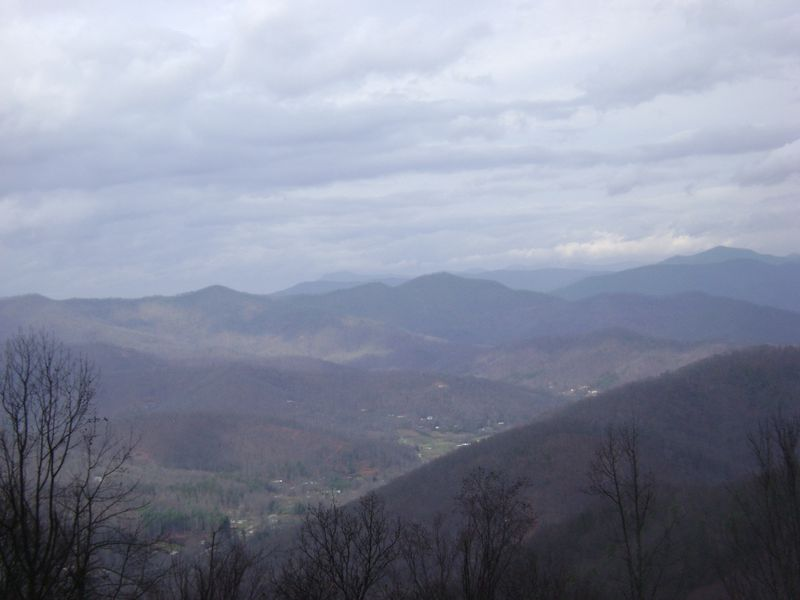 Blue Ridge looking Northeast