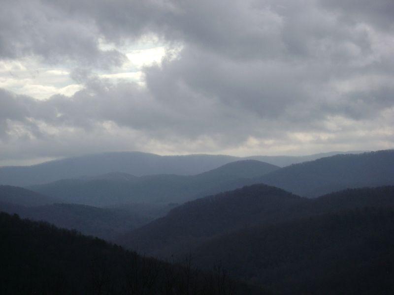 On the Ridge - Blue on Blue