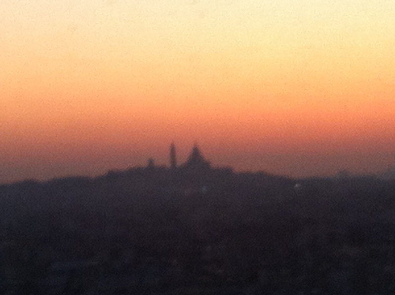 Montmartre Silhouette