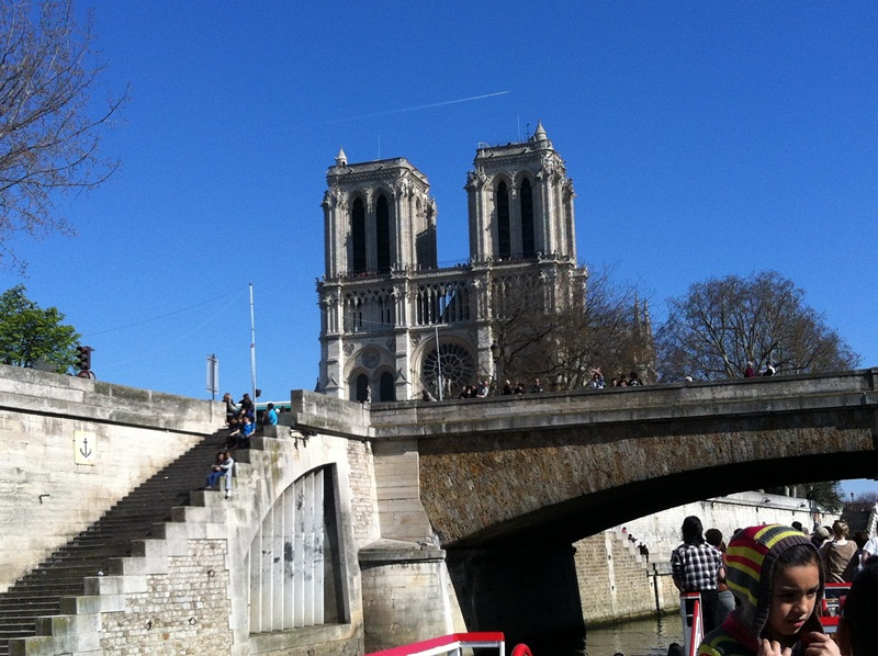 Notre Dame - Front View