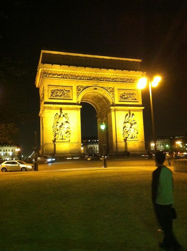Amber Arc de Triomphe