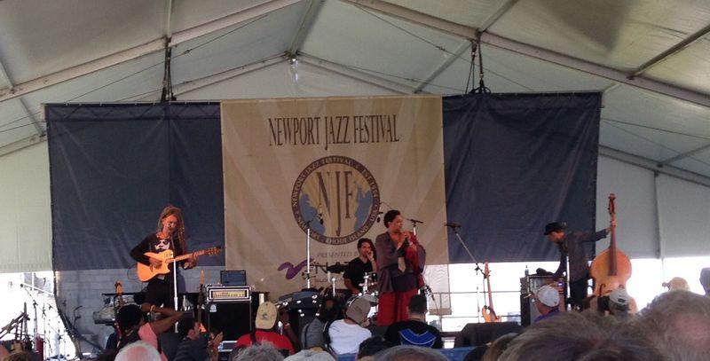 Lisa Fischer and Grand Baton - Newport Aug 2015