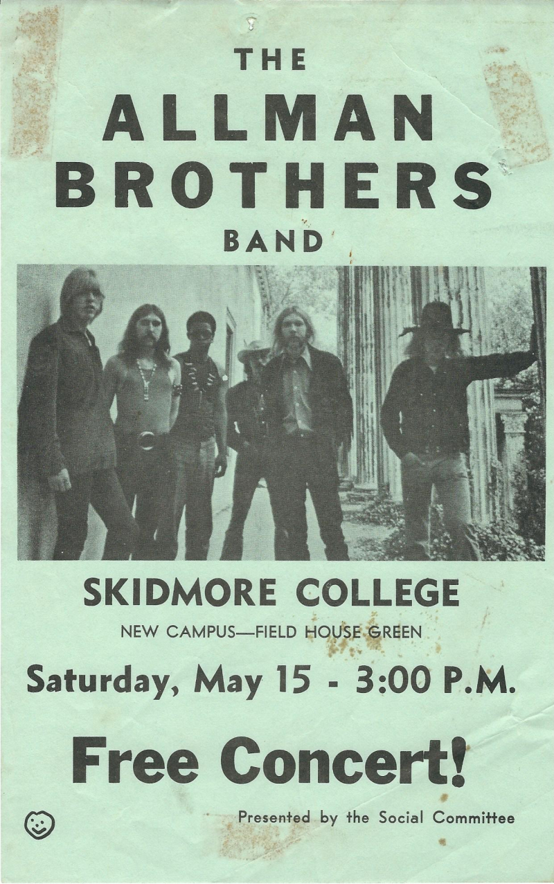 Allman Concert poster - 1971 - 2