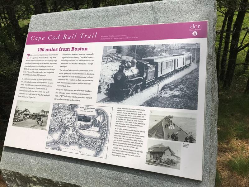 2018-06-16 11.49.21 - Rail Trail 100 mile marker